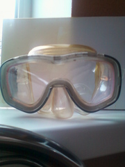Маска для подводной охоты и дайвинга