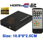 Full HD HDMI 1080P Multi TV Media Playe